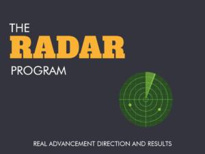 RADAR professional development program